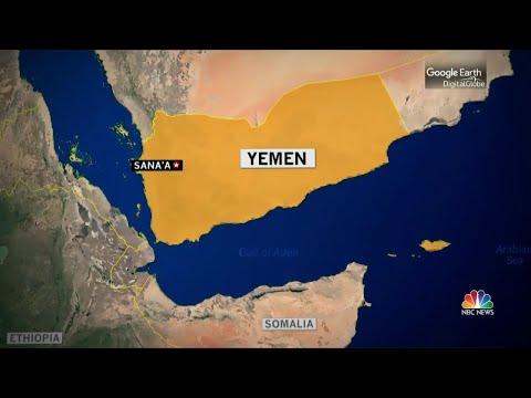 Black Hawk Down: U.S. Helicopter Crashes Off Yemen Coast | NBC Nightly News