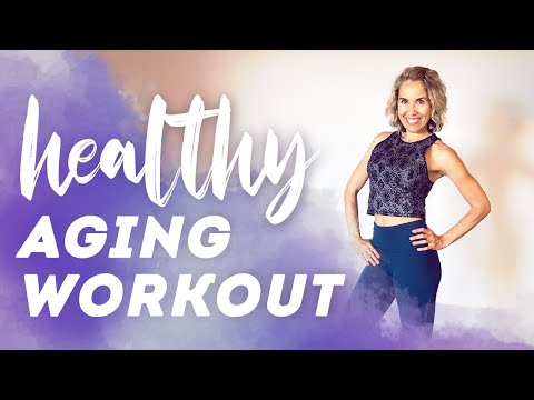 Fit over 40! Healthy Aging Workout and Tips ✨ Exercises for Powerful Aging