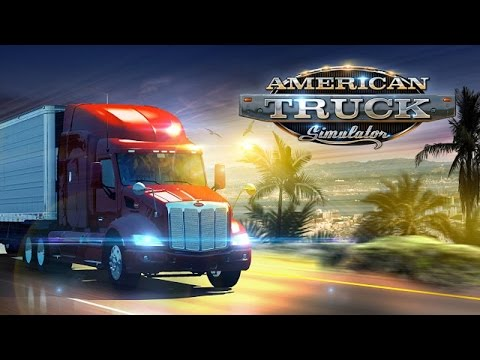 American Truck Simulator Ensemble Volvo VNL 670 + Remorque Edition Spéciale Lisa Kelly Twitch.TV #11
