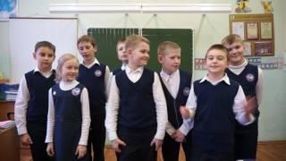 поздравление с 8 марта ребят 3-Б класса 484 школы, 2017 г