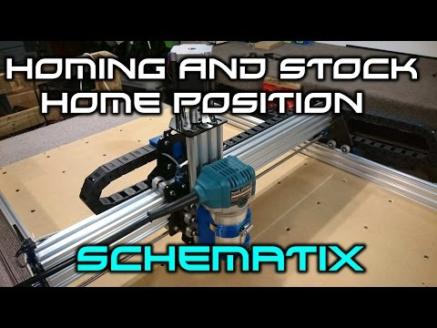 How To Home A CNC Mill, And Setup Milling Stock Home Position