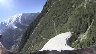 Bald Eagle POV flight - Chamonix, Mont Blanc