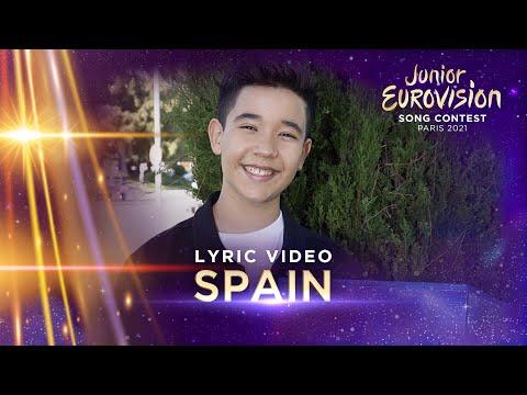 Levi Díaz - Reír - Spain 🇪🇸 - Lyric Video - Junior Eurovision 2021