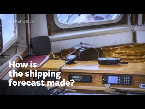 How is the shipping forecast made?
