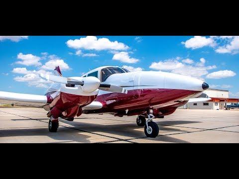 1976 Piper PA-23 Turbo Aztec F N53AC Aircraft Tour
