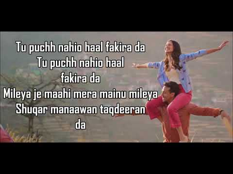 Fakira Lyrics | Student Of The Year 2 | Tiger Shroff, Tara & Ananya | Sanam Puri |  Neeti Mohan |