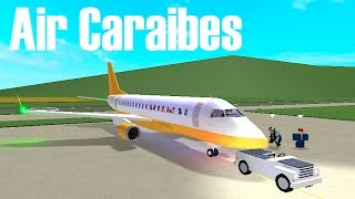 ROBLOX - France Vol Air Caraibes EMB-175