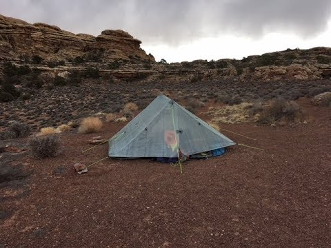 Backpacking Canyonlands National Park