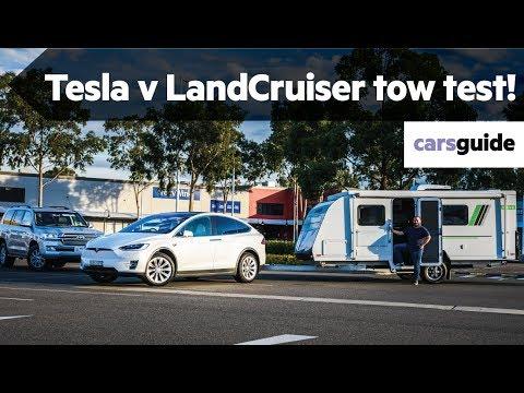 Tesla Model X 2019 review: Long Range tow test
