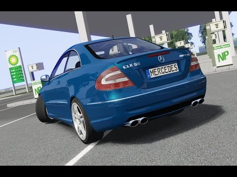 Mercedes-Benz CLK 55 AMG (2003) drive (Links) - Racer: free game