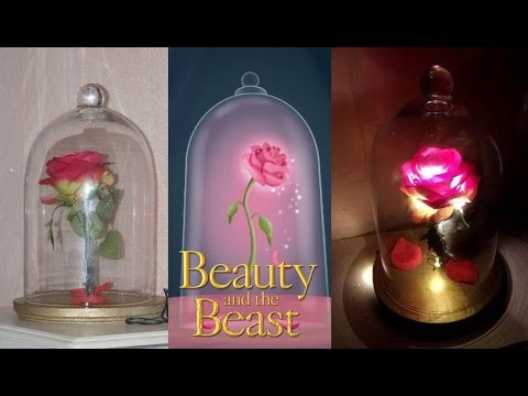 DIY  Rosa de La bella y la bestia  Disneys Beauty and
