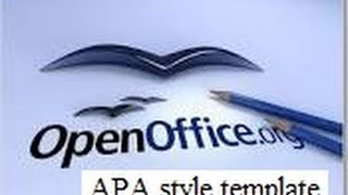 Gambar cover APA style basic formatting (title page and running head in OpenOffice)
