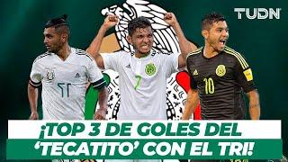 ¡El 'Tecatito' Corona está de fiesta! Y estos son sus 3 mejores goles en Selección Mexicana | TUDN