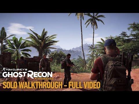 Tom Clancy's Ghost Recon Wildlands: Single Player Gameplay Walkthrough Video