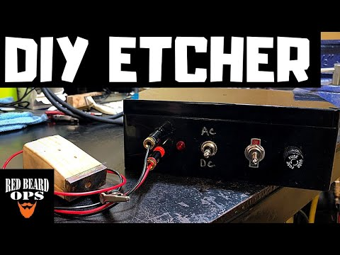 How to Build an Electro Chemical Etching Machine - Full Guide
