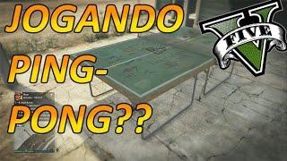 GTA V - JOGANDO PING PONG, EASTER EGG LOCAL SECRETO ! CURIOSIDADES #9 #gameplayrj  SanInPlay #SouMit