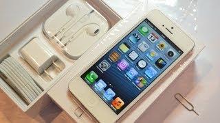Розпакування iPhone 5 (unboxing): перше включення і комплект