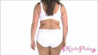 KnickerPicker.com - Triumph Doreen Bra and Sloggi Romance Midi Brief