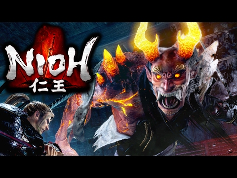 "Nioh - PS4 Pro Gameplay Walkthrough PART 1 - Opening - ""Samurai Souls"" Action-RPG - Live Stream"