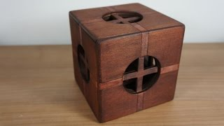 The Cross box 63 moves puzzle box (almost impossible)