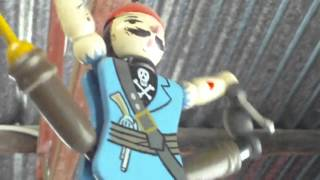 Video For Children Wood Toys Jumping Jack Puppet Pegleg Pirate For Kiddies Videos