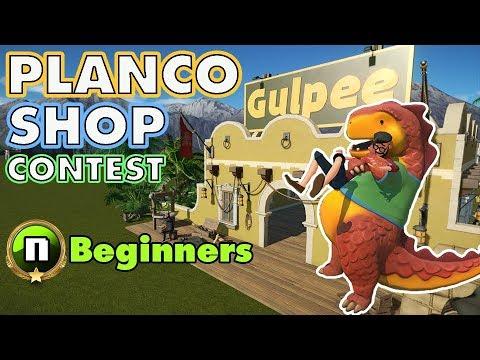 PlanCo Shop Contest: Beginner Entries! #PlanetCoaster
