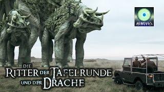Die Ritter der Tafelrunde und der Drache (Fantasyfilm in deutsch, ganzer Familienfilm in HD) HD Film