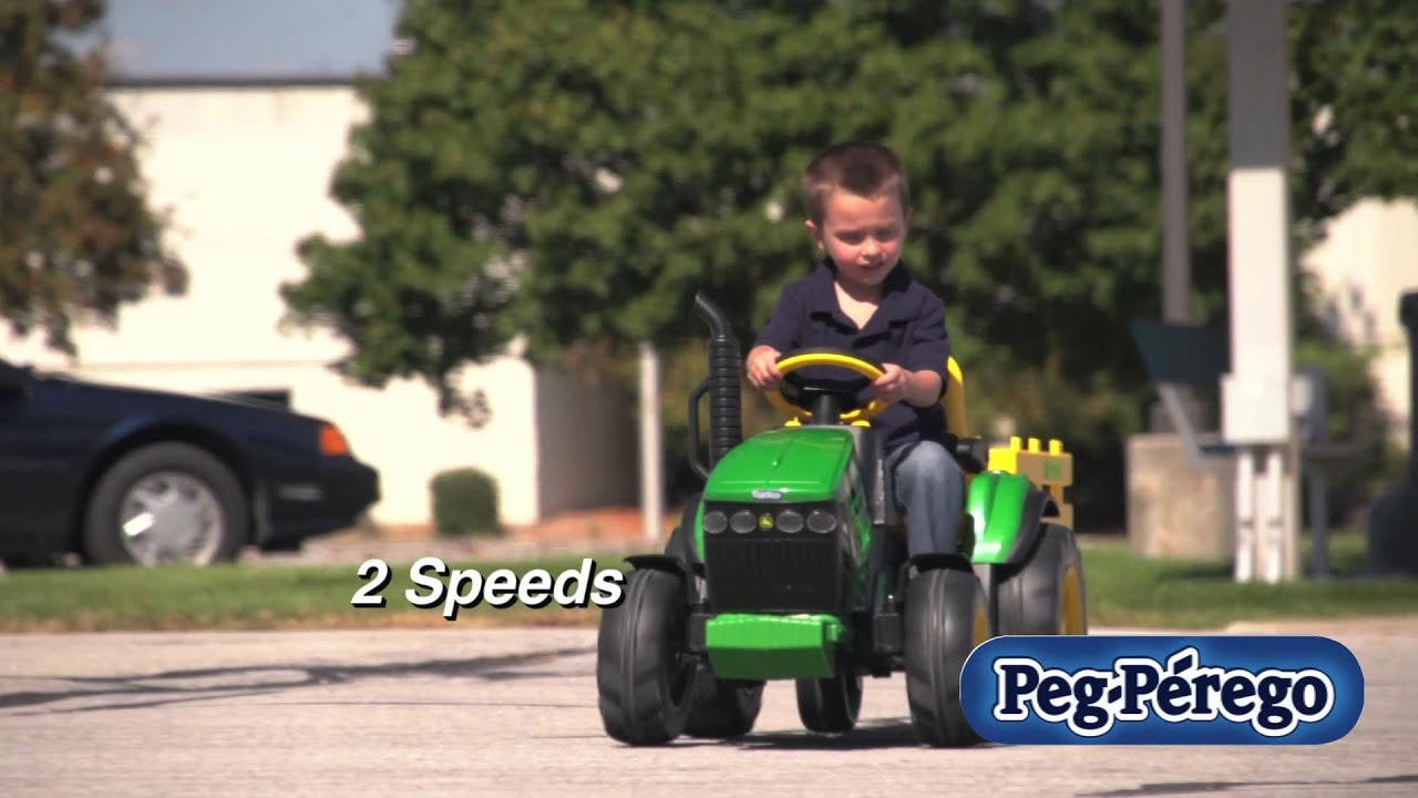 John Deere Ground Force Tractor   Italian-made baby products