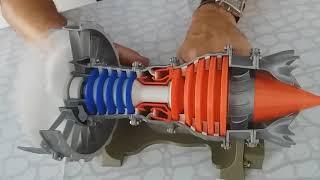 Fabriquer Mini Réacteur CFM56 En Impression 3D
