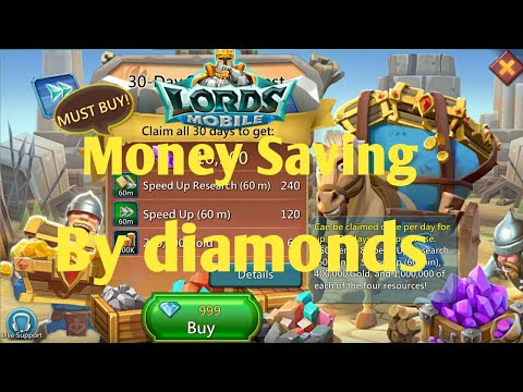Save Money In Lords Mobile By Using IGG Diamond Store Full Explain | Lords Mobile Free Packs
