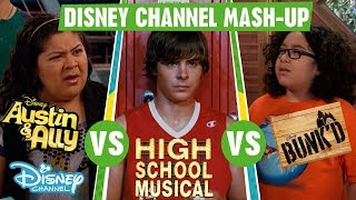 Disney Channel Mashup | High School Musical VS Austin & Ally VS Bunk'd | Official Disney Channel UK