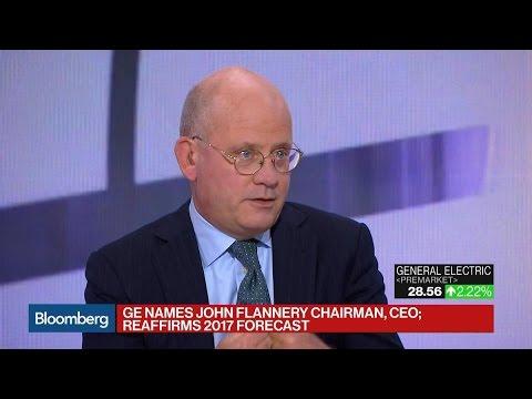 GE Names John Flannery CEO as Immelt Steps Down
