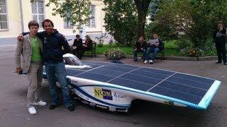 видео В США построили доступный трехколесный электрокар