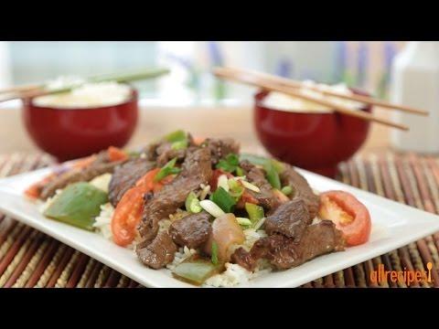 How to Make Chinese Pepper Steak | Stir-Fry Recipes | Allrecipes.com