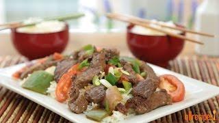 Chinese Pepper Steak - Stir-Fry Recipe