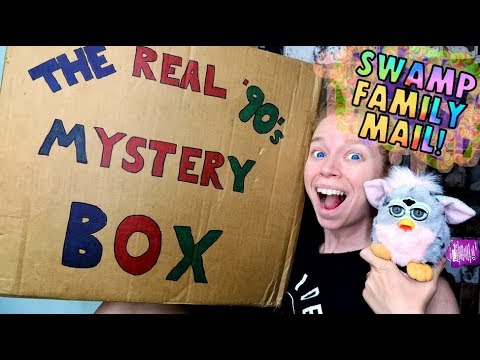 Swamp Family Mail!- 90's MYSTERY BOX Edition