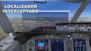 Vuelo instrumental IFR con aterrizaje ILS - Microsoft Flight Simulator X