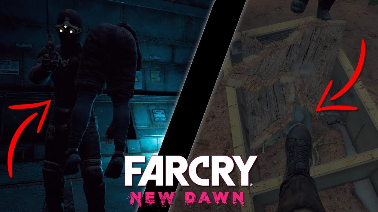 Far Cry New Dawn Splinter Cell And Indiana Jones Easter Egg Unlock Sam Fisher Outfit