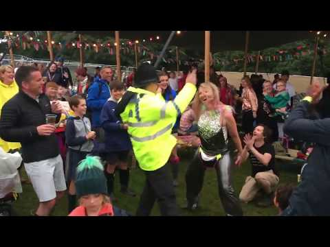 Watch this cop's epic Dad dancing at Camp Bestival