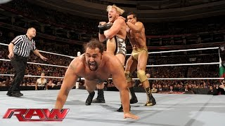 Ryback & Jack Swagger vs. Alberto Del Rio & Rusev: Raw, December 14, 2015