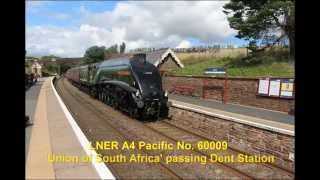 The Cumbrian Mountain Express 1Z90 - LNER A4 No 60009 Union of South Africa - Dent - 23 Aug 14