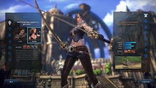 TERA - Fate of Arun - Character Creation, Character Selection, Stepstone Isle