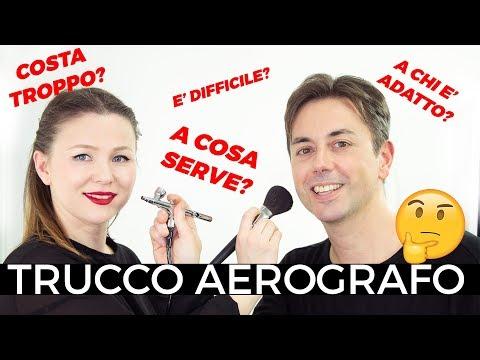 TRUCCO AEROGRAFO - Intervista a Daniele Pacini - TUTTI I SEGRETI