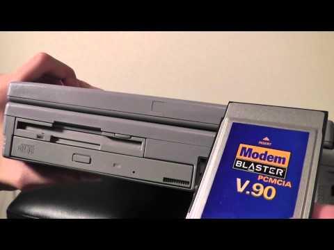Retro Review: Toshiba Satellite Windows 95 Laptop
