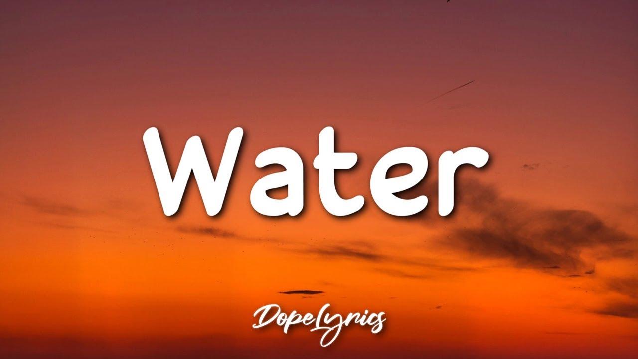 Jencarlos - Water (Lyrics) 🎵
