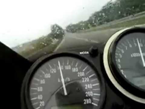 kawasaki ninja zx6r top speed - youtube