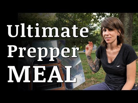 The ULTIMATE Prepper Meal In A Sun Oven