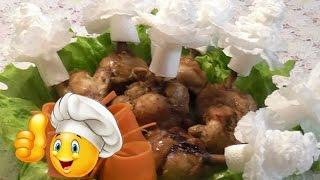 Куриные крылышки в медово-соевом соусе. Очень Вкусный и Простой Рецепт!!!