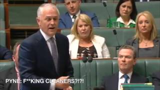christopher pyne hates malcolm turnbull