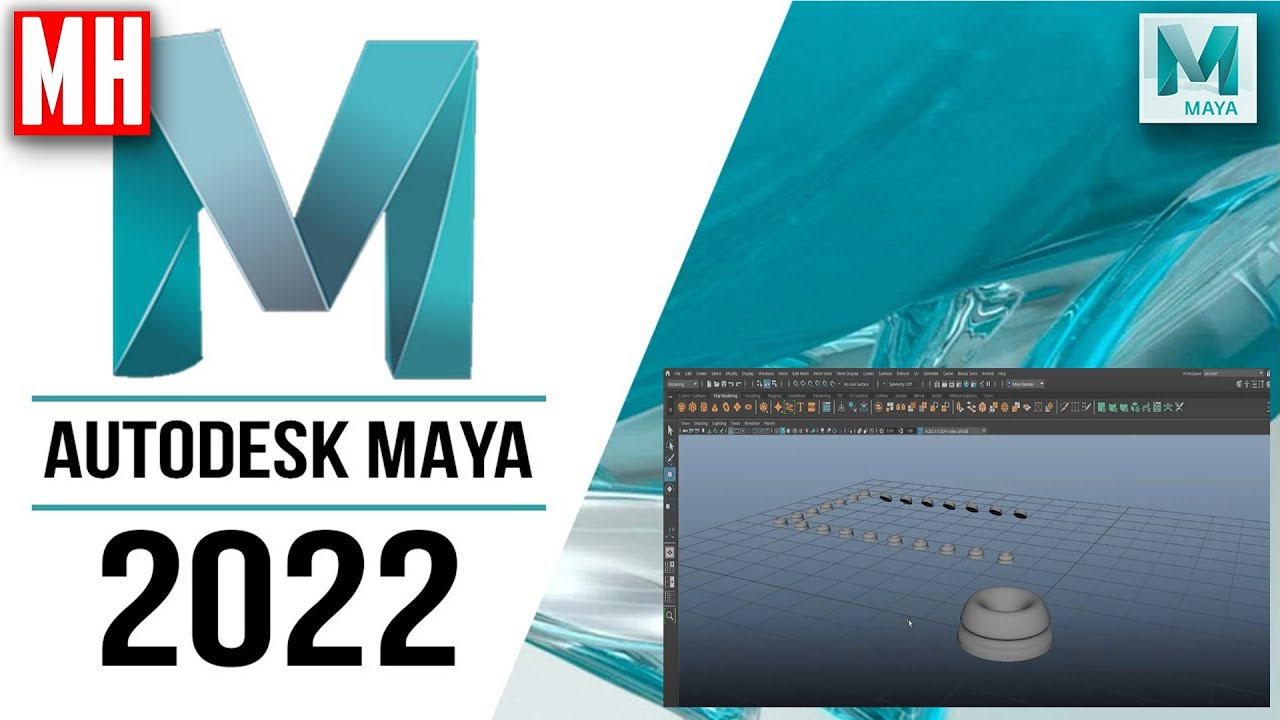 Maya 2022 tutorial : The command that will let you replace massive qty's of objects FAST